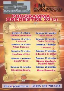 Programma orchestre 2014 Cavolaforum