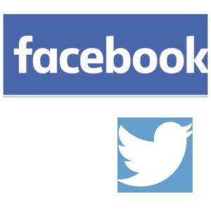 I loghi dei social più popolari
