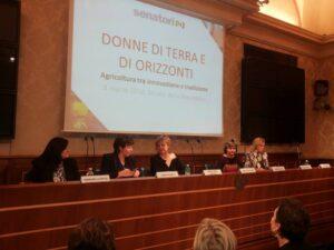 La scrittrice Normanna Albertini in Senato