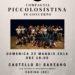 PiccoloSistina in concerto a Sarzano