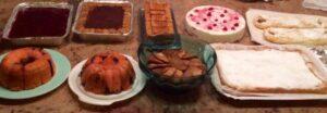 Foto Marya Ferretti, dolci fatti in casa, una cena a Collagna a casa di Laura