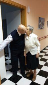 Arnoldo e Rosa hanno festeggiato il loro 67esimo anniversario