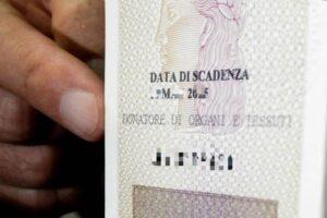 dichiarare la propria volontà di donazione di organi e tessuti sulla carta di identità