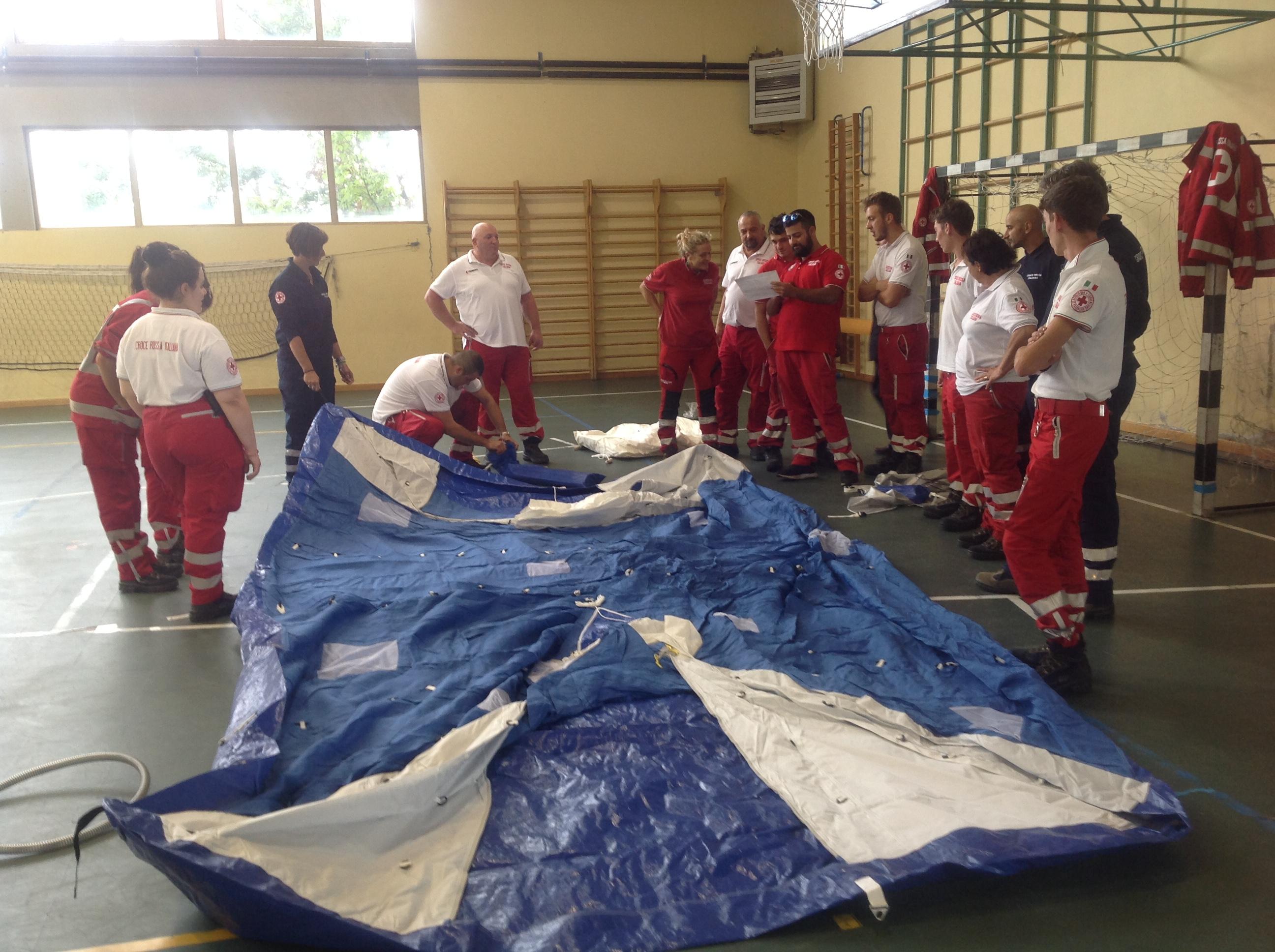Corso Opem della Croce Rossa Toano