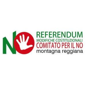 Logo Comitato per il No Montagna Reggiana