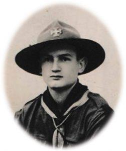 Jean-Dabrainville giovane scout nel 1938 per gentile concessione di Tuttomontagna