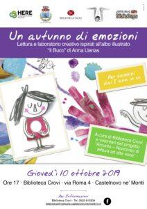 """Narrazione per i bambini sul libro """"Il Buco"""" di Anna Llenas"""
