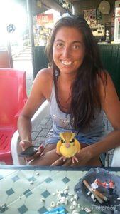 """Alessandra Dallari """"assalita"""" da un Pokémon nella piscina di Toano"""