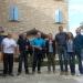 Borgamastro di Fritzlar Harmut Spogat e Gianfraco Rinaldi a Casina all'Agriturismo Madonna della Corte