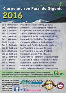 Ciaspolate 2016