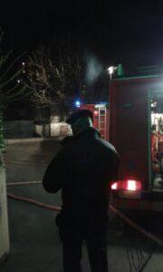Casina incendio in casa di un sessantenne