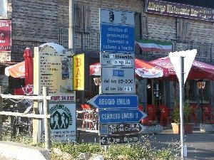 Cerreto Laghi, cartelli 2 (estate 2013)