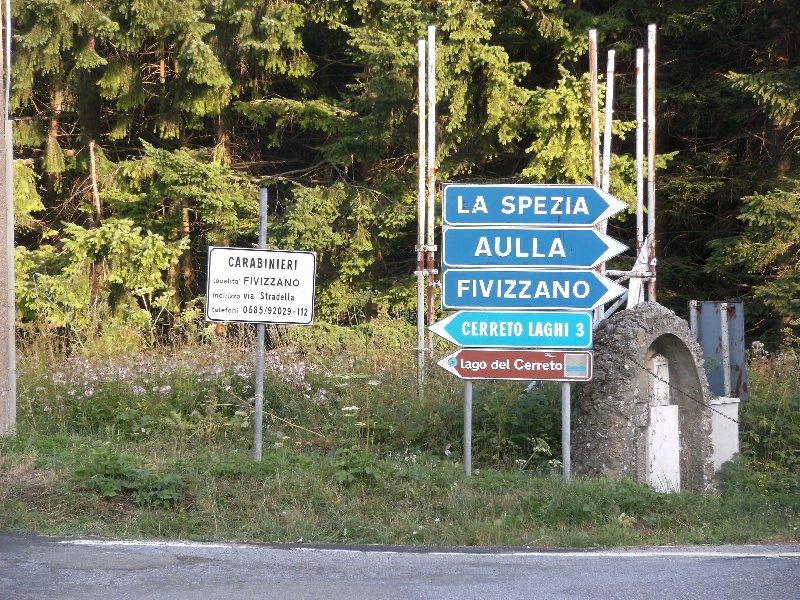 Cerreto Laghi, cartelli 3 (estate 2013)