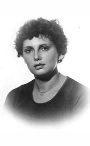 Clara Tavaroli da giovane