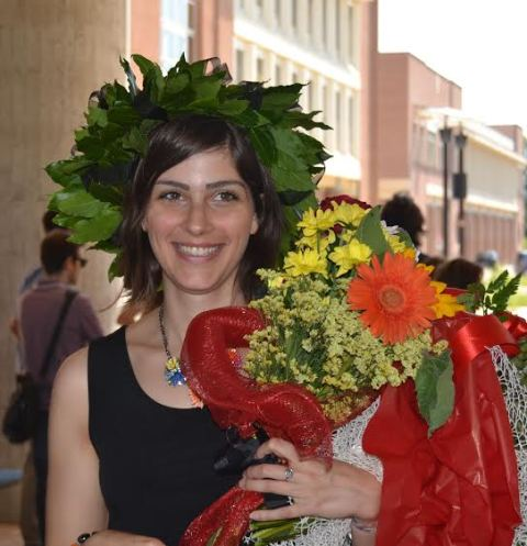 Giulia Corradini Colla Corona Dalloro Redaconredacon
