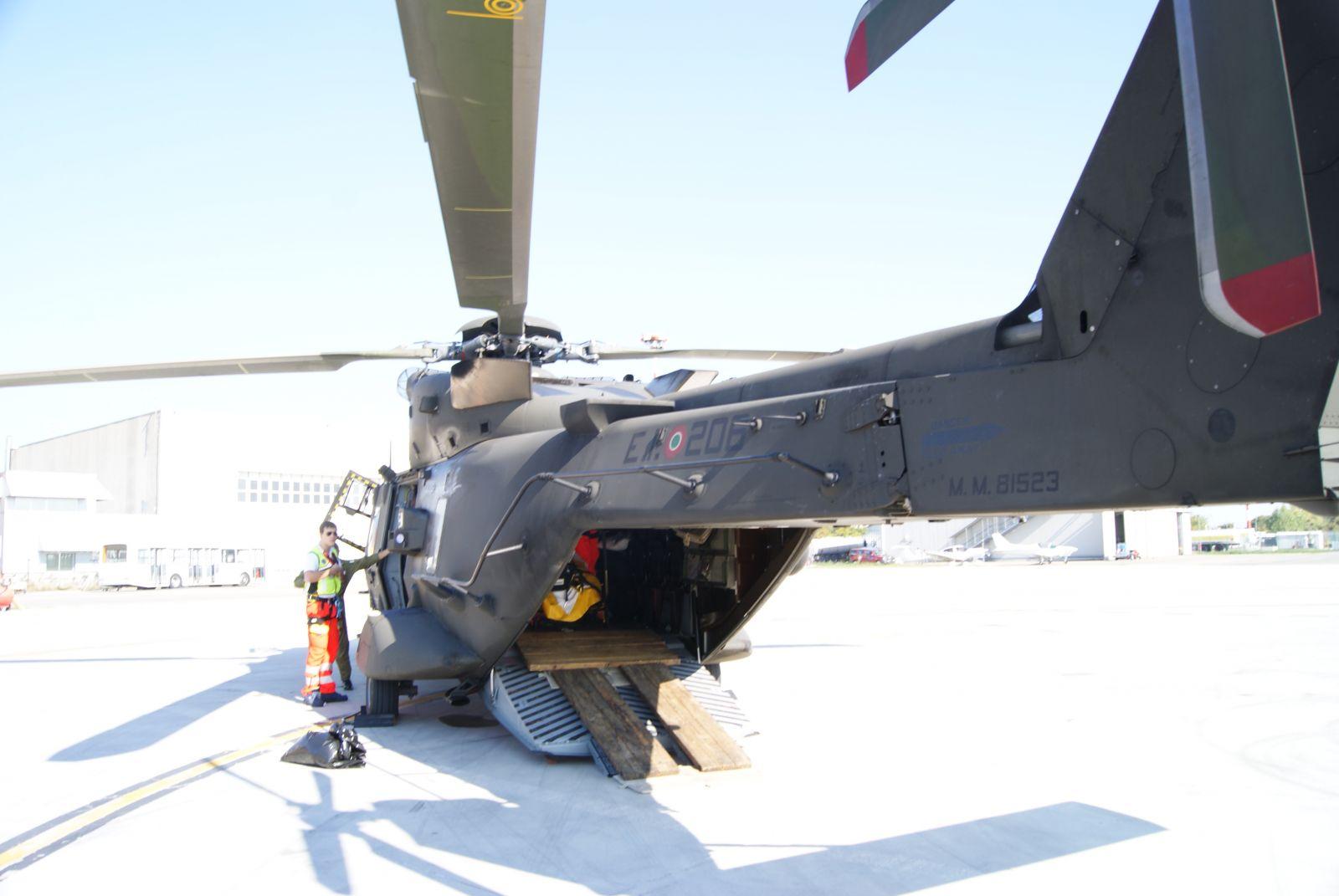 Elicottero Verde : E troppo obeso intervento congiunto di croce verde