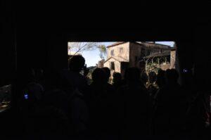 Convegno presepisti, l'inaugurazione della mostra a Palazzo Ducale.  (foto Loretta Amorini)