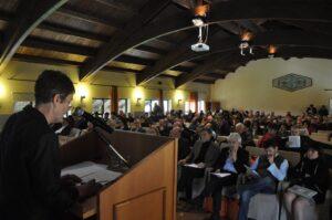 La segretaria Margherita Salvioli Mariani al congresso Cisl