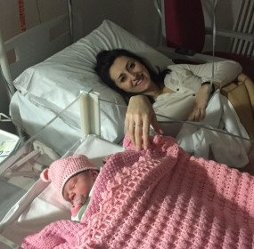 Elena Filippi con la piccola Giorgia Rossi