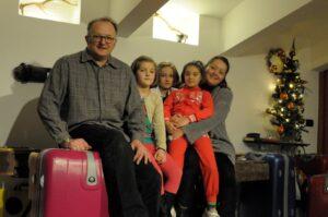 Famiglia Baldelli Del Fabbro Foto G. Arlotti alla partenza
