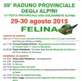 Festa Provinciale degli Alpini