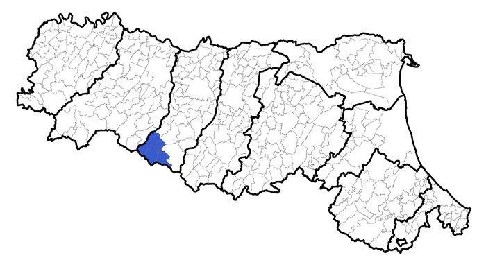 Cartina Comuni Emilia Romagna.Il Progetto Di Fusione Dei Comuni Dell Unione Dell Alto