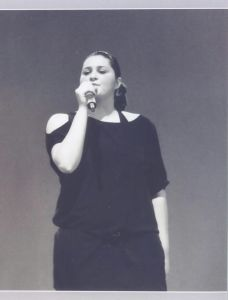La giovane cantante Giada Sarzola