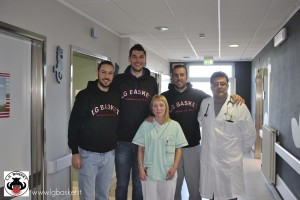 Banco Emiliano LG Basket in pediatria