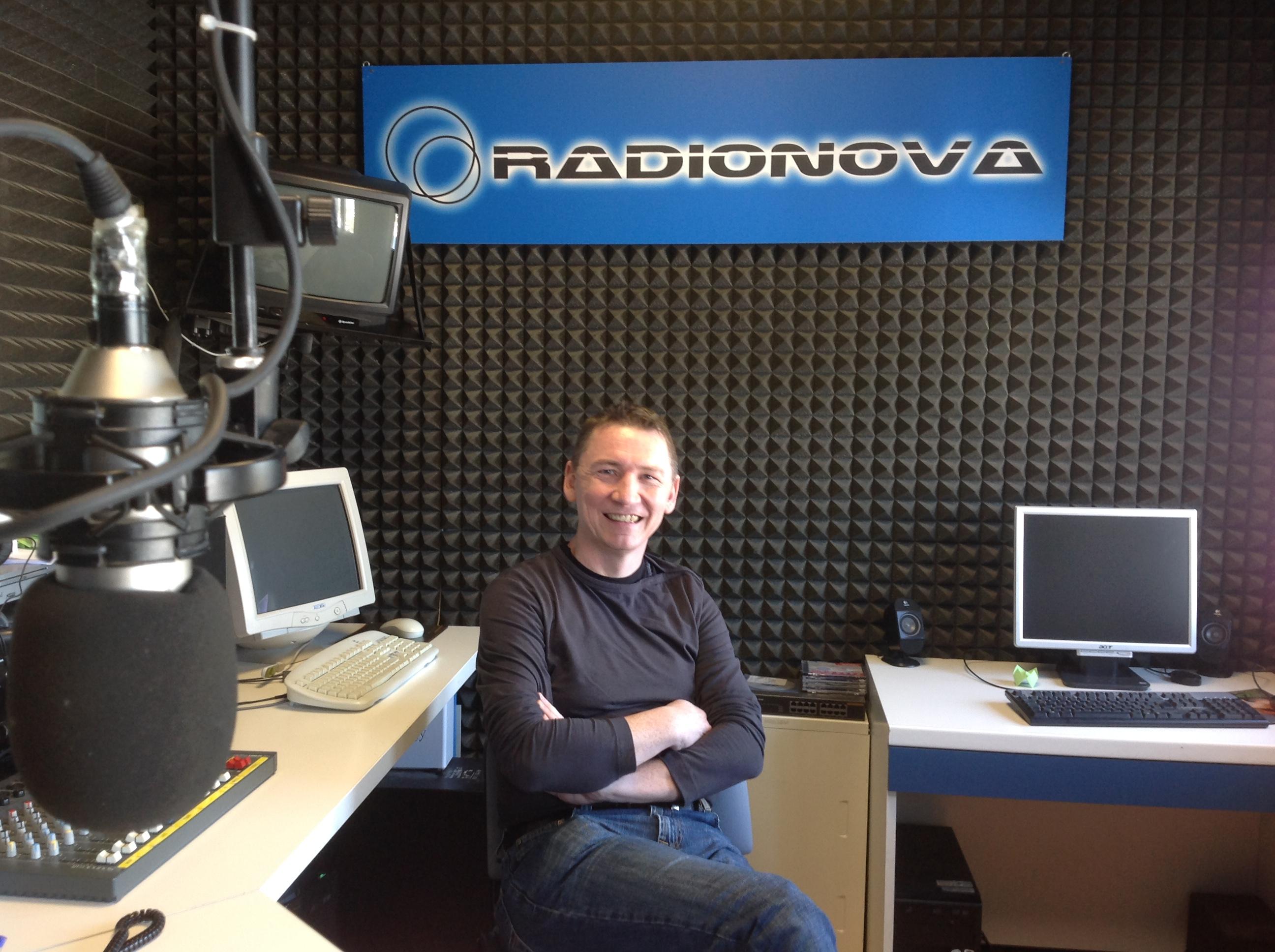 Peter Vercauteren negli studi di Radionova