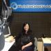 Normanna Albertini negli studi di Radionova
