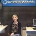 Barbara Baroncini negli studi di Radionova
