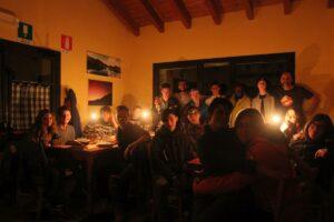 La 2C dell'Istituto Alberghiero di Castelnovo ne' Monti