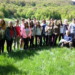 Gli studenti, dell'Istituto Professionale ad indirizzo Alberghiero con gli amici del Centro Sociale