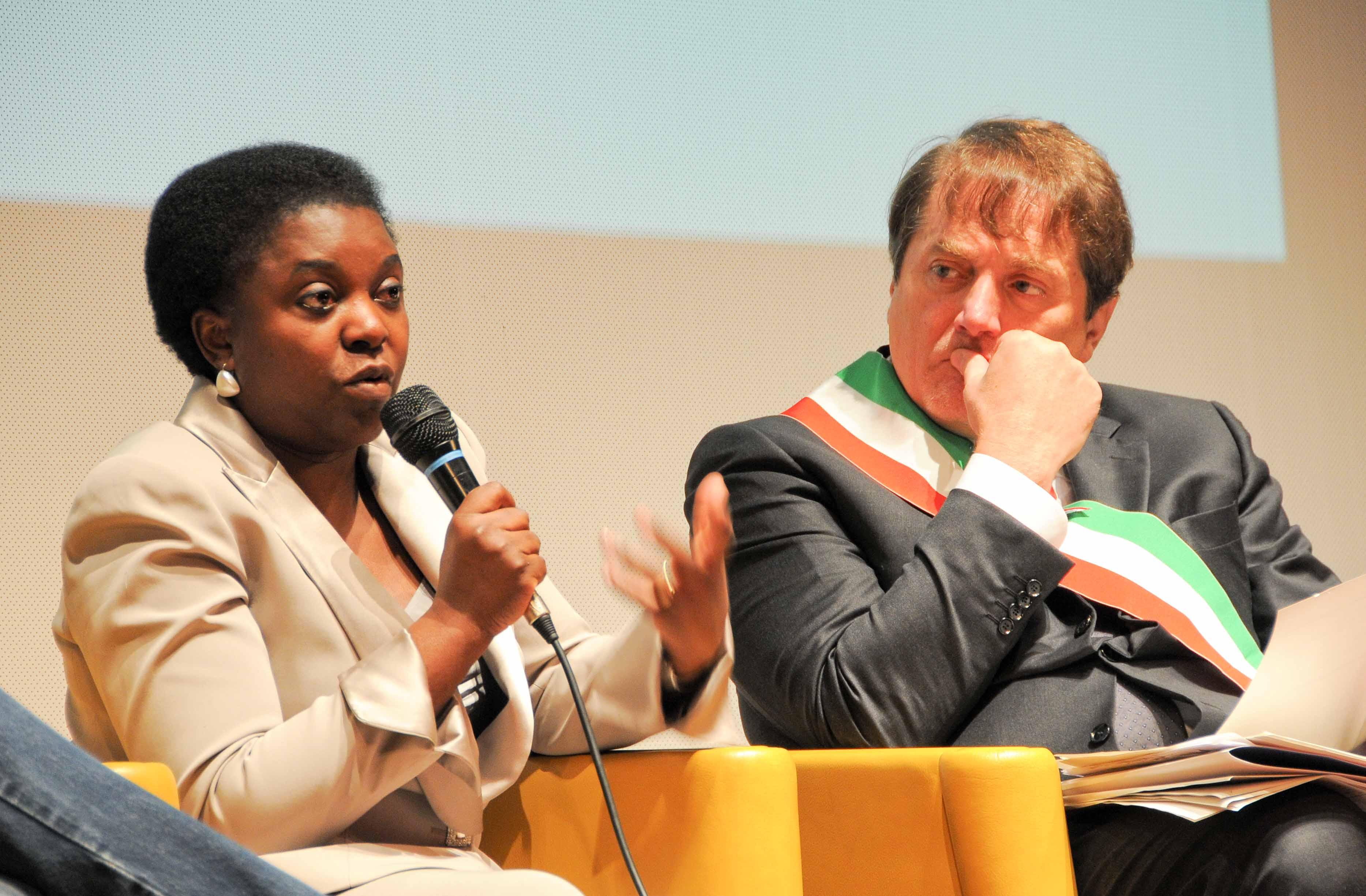 J&J-Ministro Kyenge e Marconi