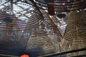 Man Mo Temple a Hong Kong