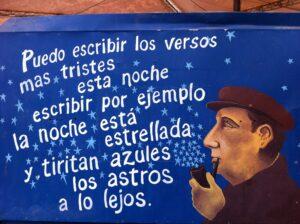 Il mio Neruda (foto scattata da Luca Caselli in Cile)