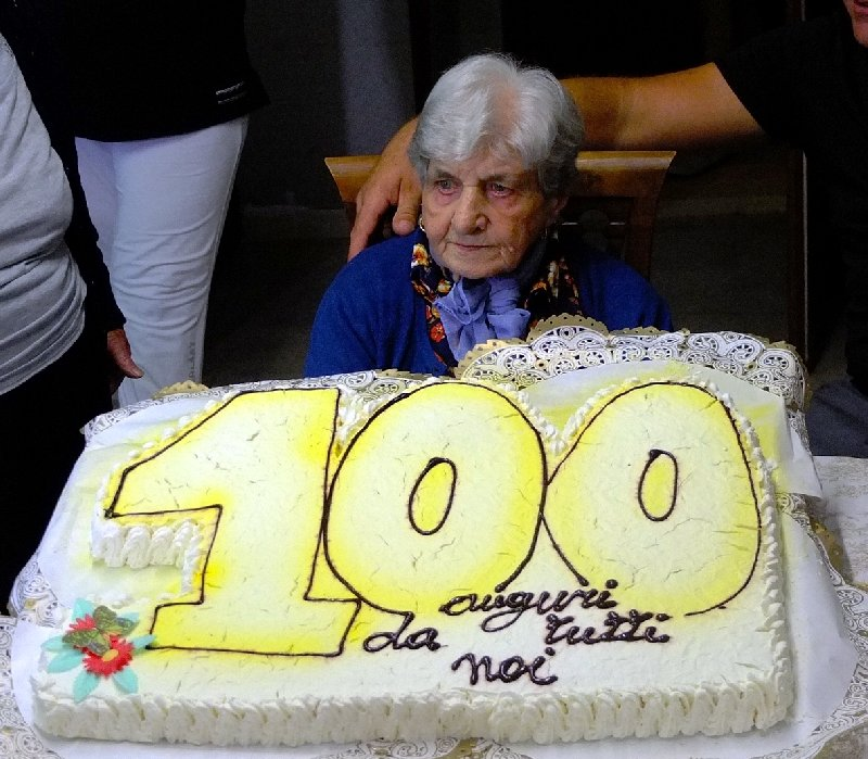 Palmina Sironi fa 100