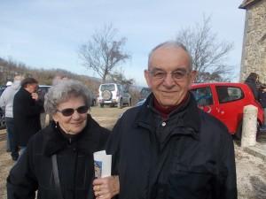 Pellegrino Romei con la moglie DSCN6398