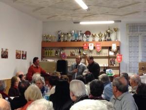 Un momento conviviale con Pro Loco di Cortogno in occasione della festa di Sant'Antonio Abate