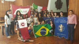 Gruppo a San Paolo Brasile