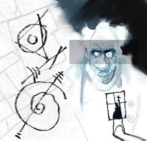Le tavole disegnate da Mauro Moretti