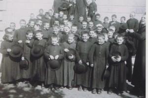 Alcuni seminaristi a Marola