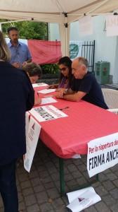 Sp 513 Raccolta firme a Vetto