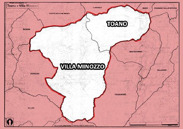 Toano e Villa Minozzo continueranno a rimanere distinti