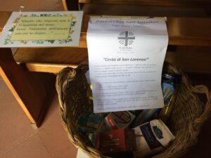 Vetto Cesto di San Lorenzo per la Caritas