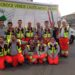 Volontari Croce Verde di Castelnovo Monti alla Notte rosa