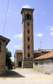 Il campanile del Ceccati a Corneto