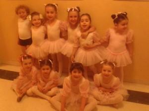 Le piccole allieve di giocodanza del Centro Danza Appenninoo