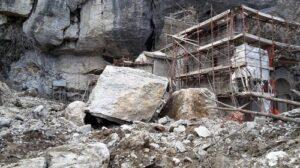 Pietra di Bismantova Il crollo dalle pareti del 13 febbraio