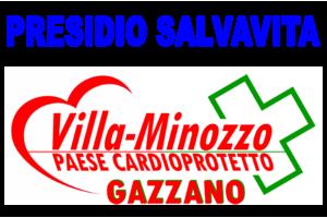 Inaugurazione colonnina defibrillatore nella frazione di Gazzano
